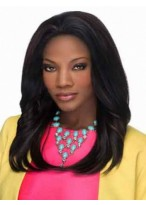 Fashion Lace Front Straight African American Wig