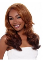 Layered Wavy Long Synthetic African American Wig