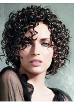 High Quality Curly Synthetic Capless Wig