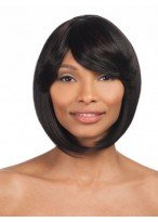 Elegant Straight Medium Capless Synthetic Wig