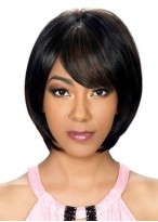 Stunning Synthetic Straight Capless Wig