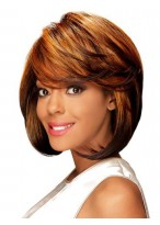 Lace Front Charming Straight African American Wig