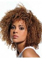 Glamorous Curly Lace Front Synthetic Wig