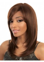 Amazing Straight Human Hair Lace Front Wig