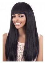 Straight Wonderful Capless Human Hair Wig