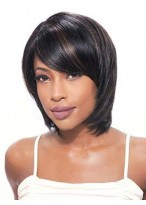 Simple Tailored Straight Lace Front Wig