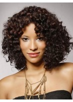 Chic Curly Synthetic Lace Front Wig