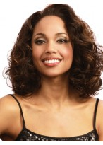 Elaborately Wavy Synthetic Lace Front Wig