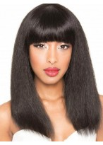 Amazing Straight Human Hair Capless Wig