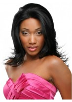 Straight Heat Friendly Synthetic Wig