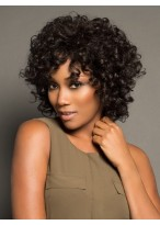 Shimmering Curly Lace Front Synthetic Wig
