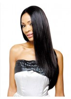 TopQuality Straight Lace Front Synthetic Wig