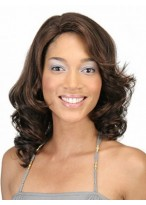 Comfortable Wavy Lace Front Synthetic Wig