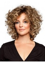 Gorgeous Curly Lace Front Remy Human Hair Wig