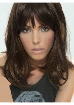 Stupendous Wavy Capless Synthetic African American Wig