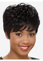 Wonderful Wavy Capless Synthetic African American Wig