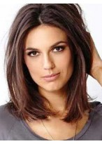 Pretty Straight Lace Front Remy Human Hair Bob Wig