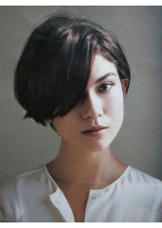 Nice-looking Straight Capless Synthetic Bob Wig