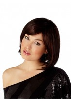 Styleable heat-friendly synthetic hair Bob wig