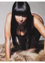 Nicki Minaj Full Lace Long Straight Wig