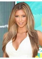 Kim Kardashian Centre Parting Straight Wig
