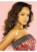 Rihanna Hairstyle Full Lace Wig