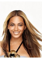 Stylish Beyonce Long Straight Synthetic Wig