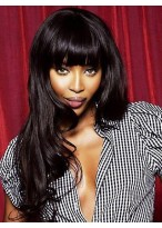 "20"" India Remy Hair Wavy Celebrity Wig"