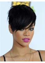 Rihanna Hairstyle Short Synthetic Wig