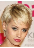 Celebrity Noble Short Straight Wig