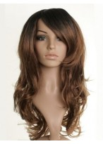 Long Fearne Cotton Wavy Synthetic Dip-Dye Wig
