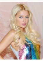 Paris Hilton Glamorous Wavy Lace Front Synthetic Wig