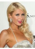 Paris Hilton Most Popular Wavy Lace Front Human Hair Wig