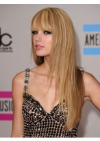 Taylor Swift Elegant Straight Capless Synthetic Wig