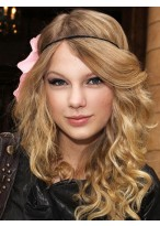 Taylor Swift Capless Wavy Synthetic Wig