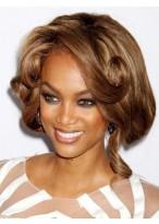 Tyra Banks Durable Wavy Lace Front Human Hair Wig