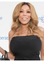 Wendy Williams New Style Wavy Lace Front Remy Human Hair Wig