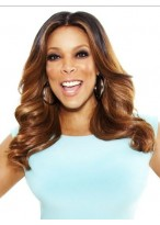 Wendy Williams Fashionable Wavy Lace Front Synthetic Wig