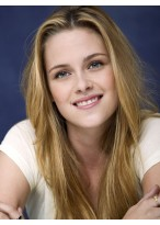 Kristen Stewart Top Quality Straight Lace Front Remy Human Hair Wig