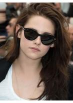 Kristen Stewart Elegant Straight Lace Front Remy Human Hair Wig