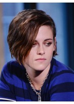 Kristen Stewart Marvelous Wavy Lace Front Synthetic Wig