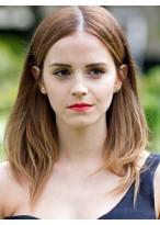 Emma Watson Amazing Straight Lace Front Remy Human Hair Wig