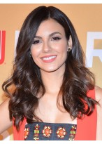 Victoria Justice Popular Wavy Lace Front Synthetic Wig