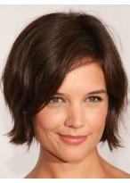 Modern Straight Lace Front Remy Human Hair Wig