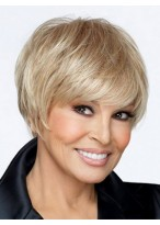 Capless Sassy Straight Synthetic Wig