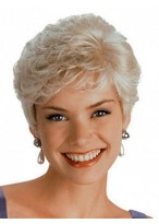 Fashion Short Synthetic Capless Wig