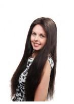Long Straight Full Lace Human Hair Wig