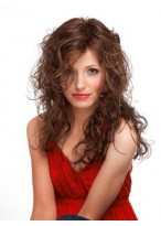 "22"" Full Lace Wavy Human Hair Wig"