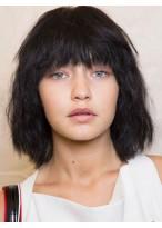 Glamorous Straight Capless Brazilian Remy Hair Wig
