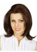 Chic Brazilian Remy Hair Straight Lace Front Wig